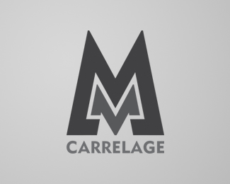 Logopond logo brand identity inspiration logotyp for Carrelage 3mm