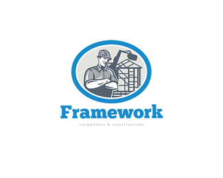 Framework Carpenters and Construction Logo