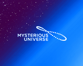Mysterious Universe podcast logo design