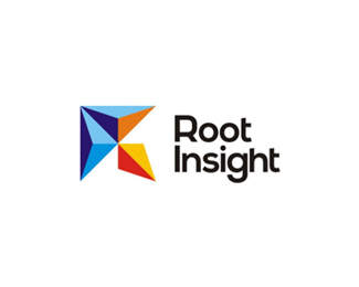 Root Insight, CRM services logo design