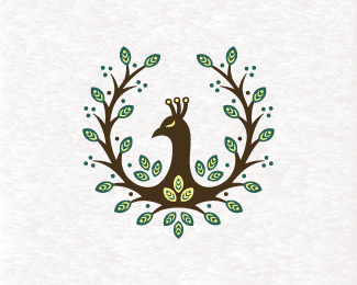 Nature Peacock Logo