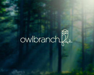 OwlBranch Logo Design