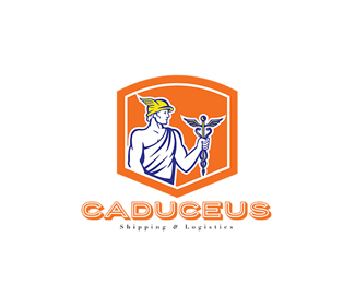 Caduceus Shipping and Logistics Logo