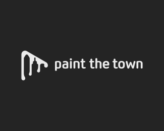 Logo design inspiration #25 - Florin Capota - Paint The Town
