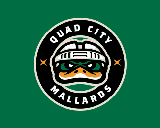Quad City Mallards Alternate Logo (2011)