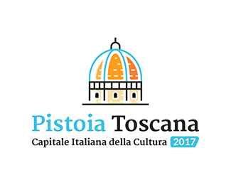 Logo for Pistoia Italian Capital of Culture 2017