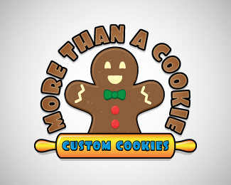 More Than A Cookie [gingerbread man]