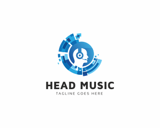 Head Virtual Logo