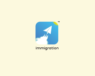 Logo immigration applicationIt