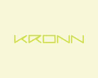 Kronn tennis, naming & logo design