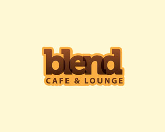 Blend Cafe And Lounge Logo