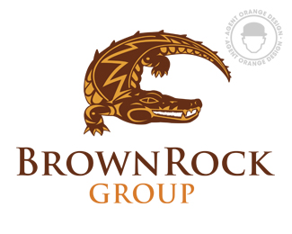 BrownRock Group | Illustrative Logo Design