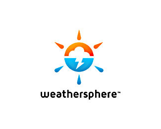 Logo design inspiration 2 - Mike Erickson - weathersphere