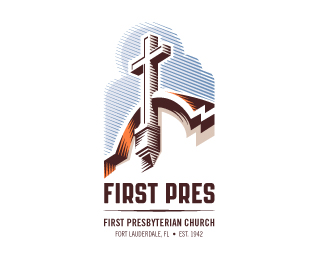 First Pres church logo
