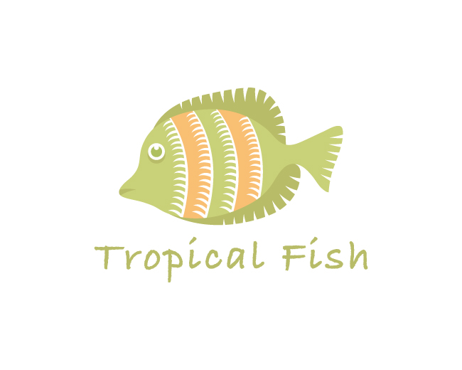 Tropical Fish Logo
