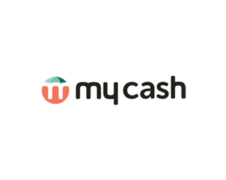 My Cash, financial advisory platform logo design
