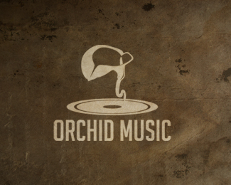 Orchid Music Logo