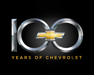 Chevy 100 Years Logo