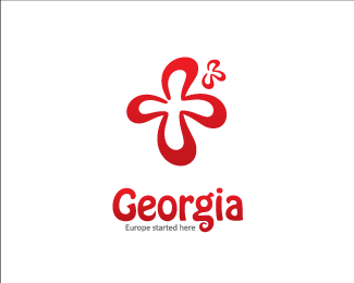 Tourist logo & type for Georgia