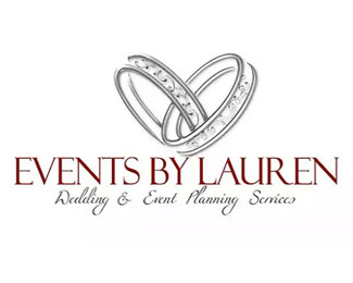 Events By Lauren Logo Design