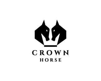 Crown Horse Logo