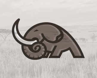 Strong Elephant (logo for sale)