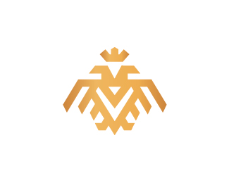Double Headed Eagle Mark Logo