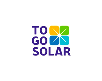 To Go Solar logo design