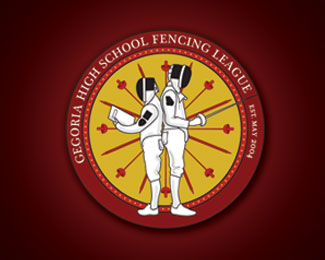 Georgia High School Fencing League Logo