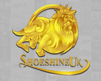 Shoeshine UK Logo Design