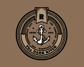 The Dark River (logo template)
