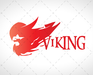 Modern Viking Logo For Sale