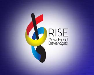 Rise Powered Beverages Logo 1