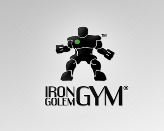IronGolemGym Logo Proposal