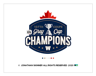 Blue Bombers Championship Tee