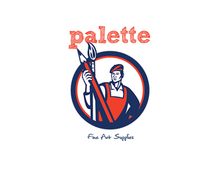 Palette Fine Art Supplies Logo