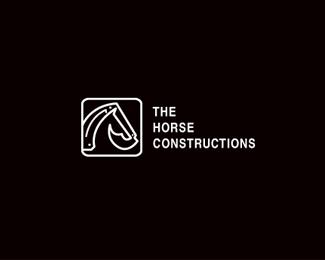Logo design inspiration #19 - Bransense Studio - The Horse Constructions