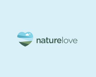 NatureLove Logo Design