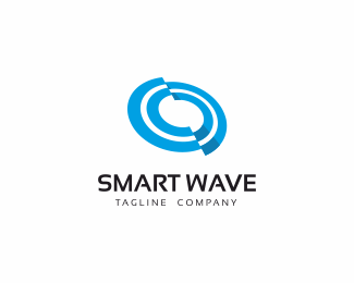 Smart Wave Logo Template