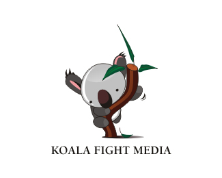 Logo for koala fight media