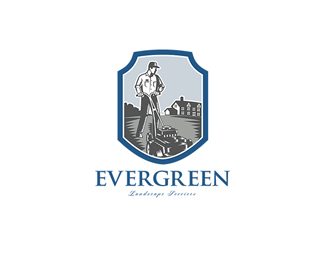 Evergreen Landscape Services Logo