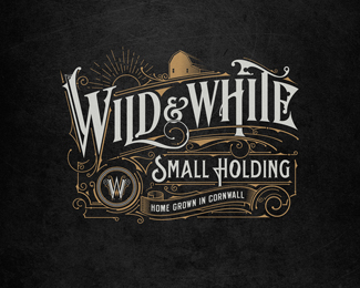 Wild & White | Logo | UK