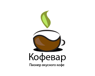 Coffee machine logo