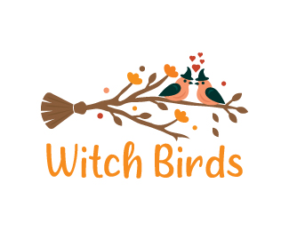 Witch Birds Logo