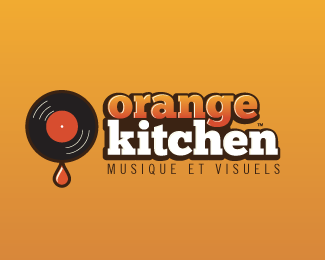 Orange Kitchen 2