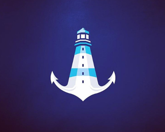Anchor + Lighthouse