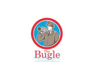 Bugle Marching Band Logo