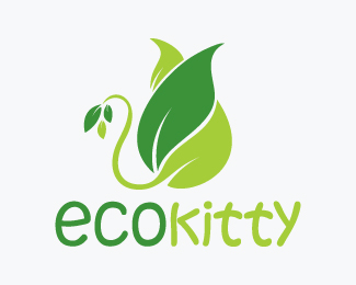 Eco Kitty Logos for Sale