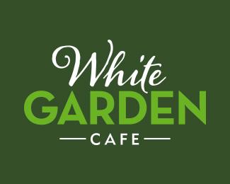 Logopond Logo Brand Identity Inspiration White Garden Cafe