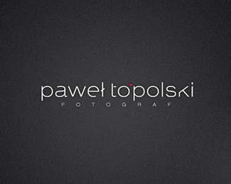 logotyp - photographer topol